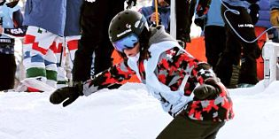 Big White hosts Para Snowboard World Cup; Calgary's Salt takes Bronze
