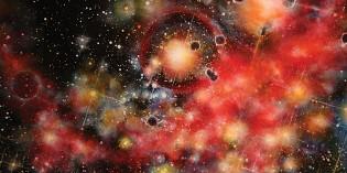 Cosmic inspiration: artist Aaron Metz