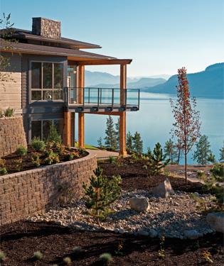 Lake Country living waterside at Lakestone