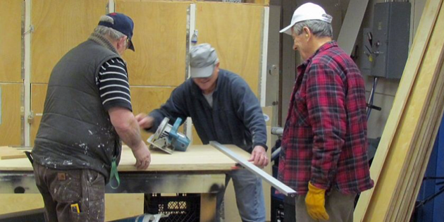 Okanagan Men's Shed sharing their talents