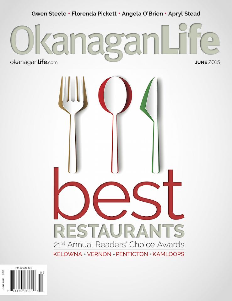 Okanagan Life Best Restaurants 2015