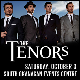 The Tenors Under One Sky Tour Coming to Penticton