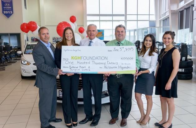 Kelowna-Hyundai-Donation-Be-A-Lifesave-Campaign