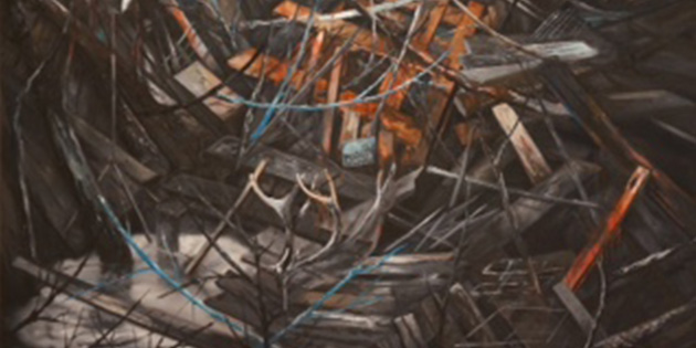 Dense and Intriguing Paintings Comprise New Solo Show at Gallery