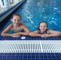 Young swimmers cross Okanagan Lake