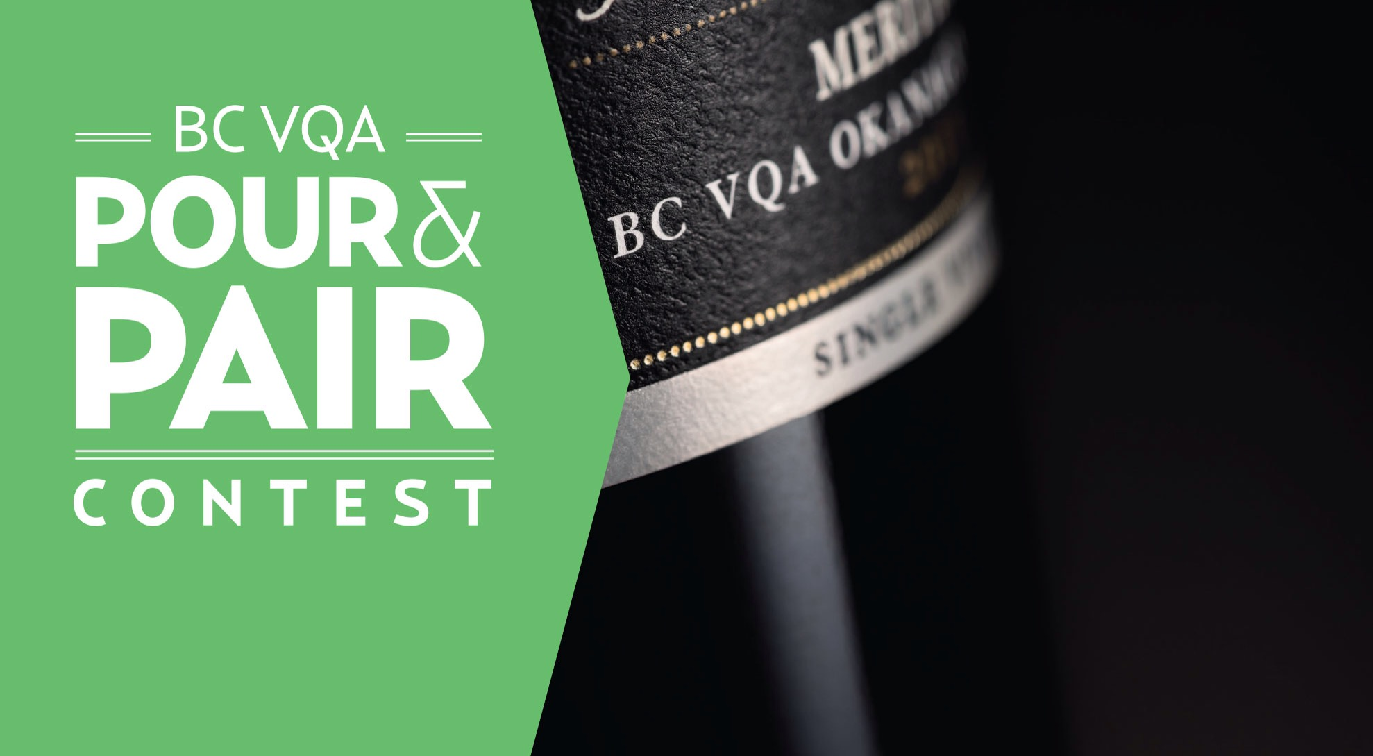 Pour and pair Okanagan wine and win