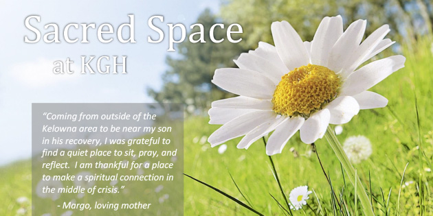 Kelowna General Hospital: Sacred Space to provide peaceful multi-faith refuge