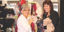 Lifting Spirits, bras for women's shelters