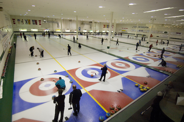 Try curling at Kelowna Curling Club this Saturday