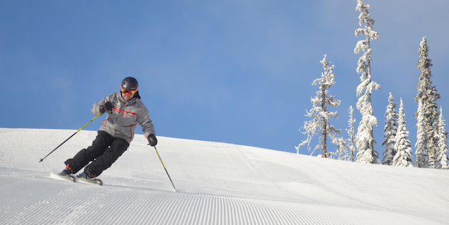 Sun Peaks Opens For Ski Teams
