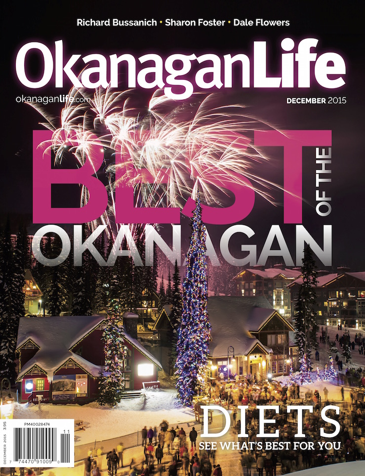 Dec 2015 Okanagan Life – Best of the Okanagan
