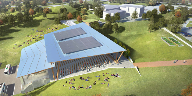 Amphitheatre proposed for Okanagan College campus