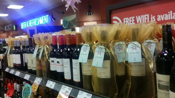 BC wine holiday sales support local food banks
