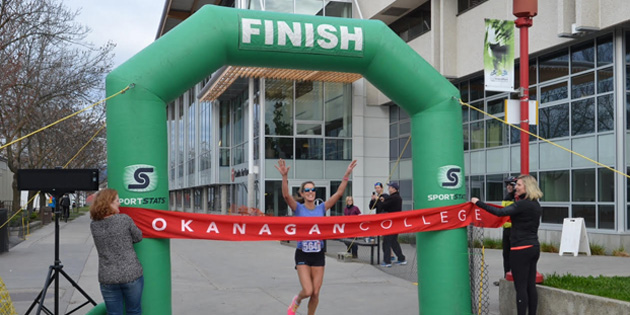Early registration open for Okanagan College Half Marathon
