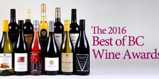 2016 Best of BC Wine Award Winners