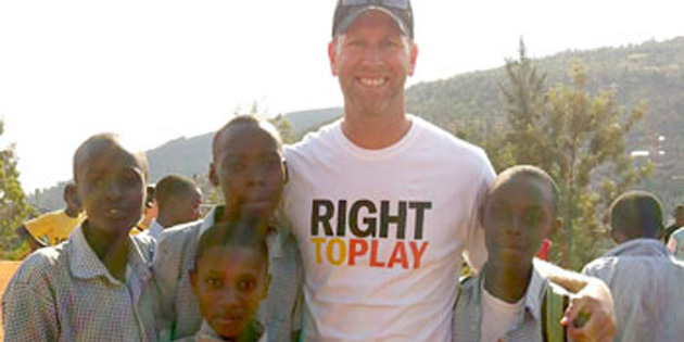 Okanagan prof to promote Right to Play in Rwanda