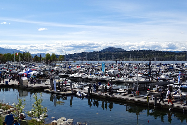 Hundreds of boats draw crowds to Kelowna Yacht Club Boat Show