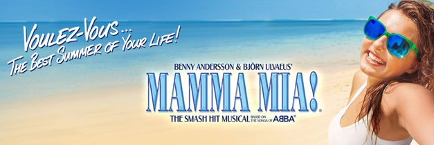 Single performance of Mamma Mia at the South Okanagan Events Centre