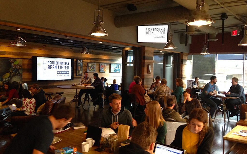 Social conscious coffeehouse named #1 in Canada