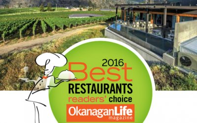 2016 Best Restaurant Certificates