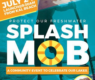 Splash mob brings widespread attention to invasive mussels