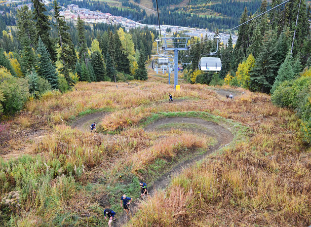 September in Sun Peaks Ripe with Adventure Racing