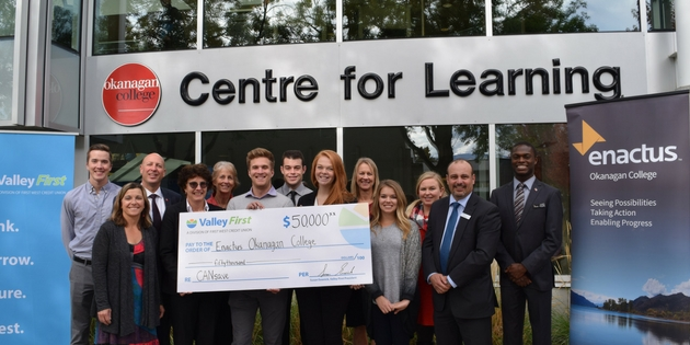 Valley First steps in with $50,000 donation to help teach financial literacy