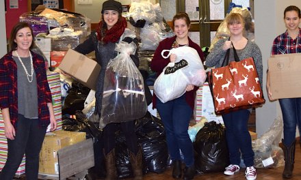 Nursing students' caring contributions yield warmth for the winter