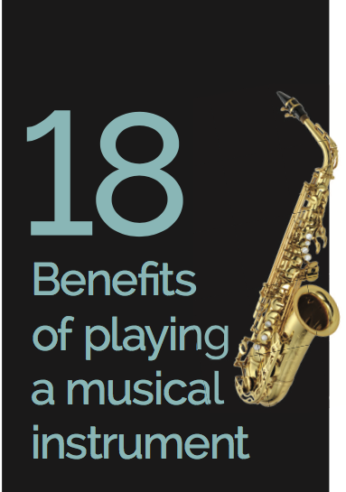 benifits on playing musical instruments When you listen to music, multiple areas of your brain become engaged and active but when you actually play an instrument, that activity becomes more like a.