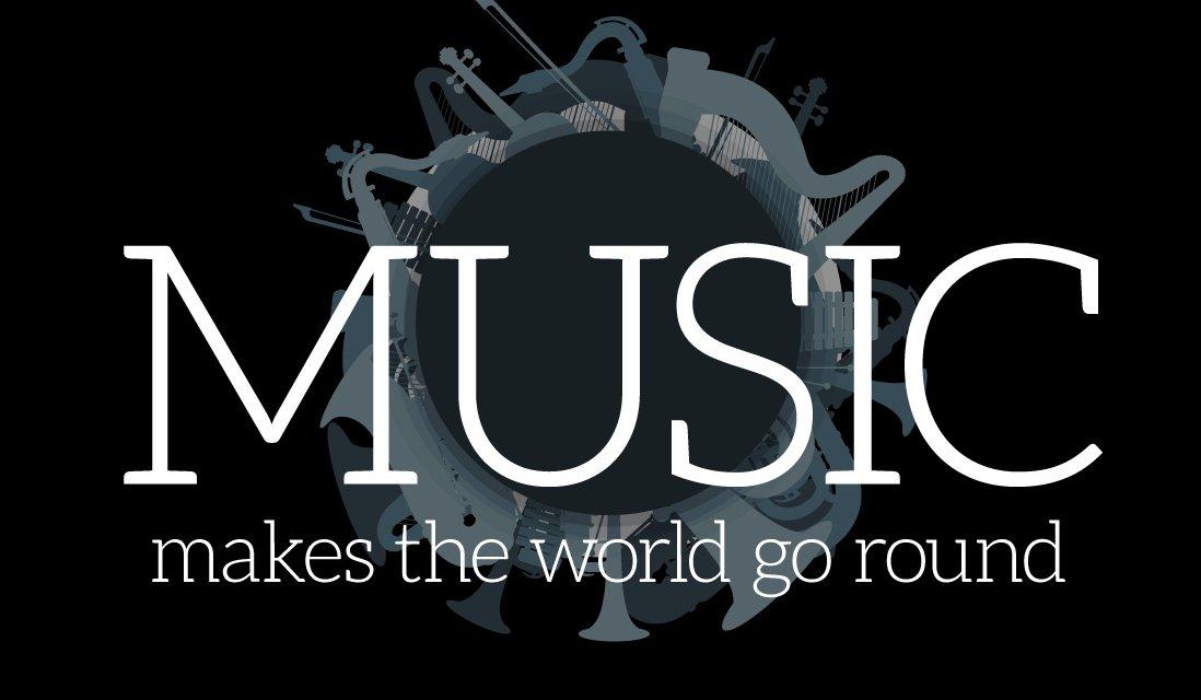Music makes the world go around
