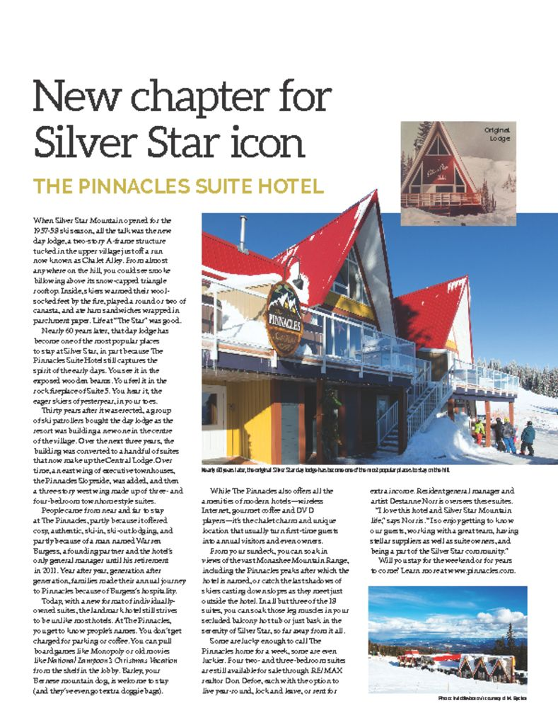 Pinnacles Suite Hotel: New chapter for Silver Star icon