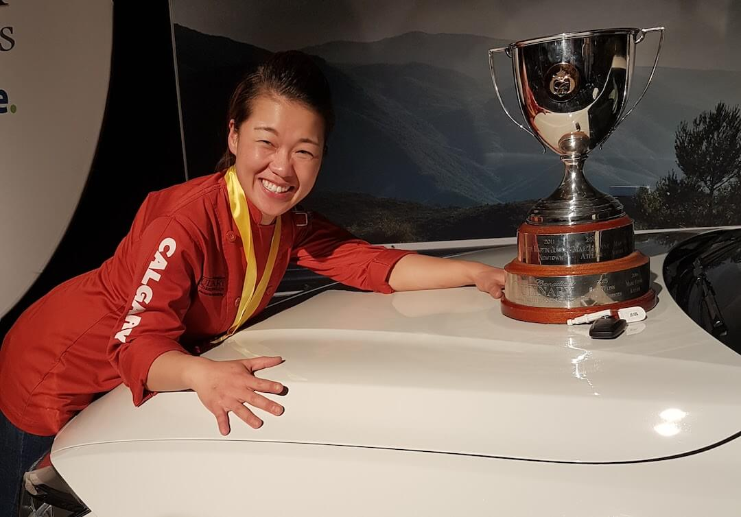 The Gold Medal Plate goes to Calgary's Jinhee Lee
