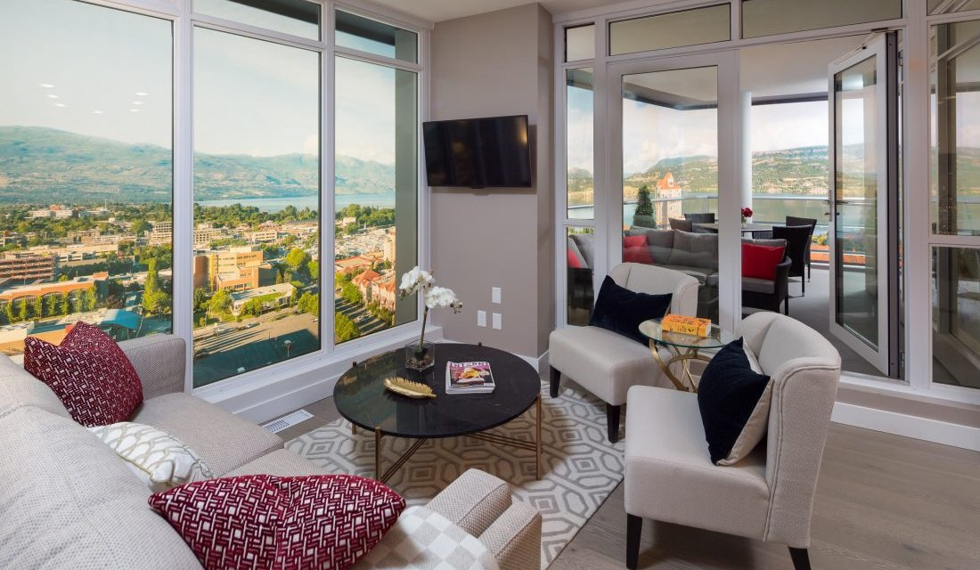 Kelowna's only new highrise over 70% sold