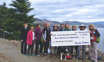 Okanagan Rail Trail: Work under way; help fund completion