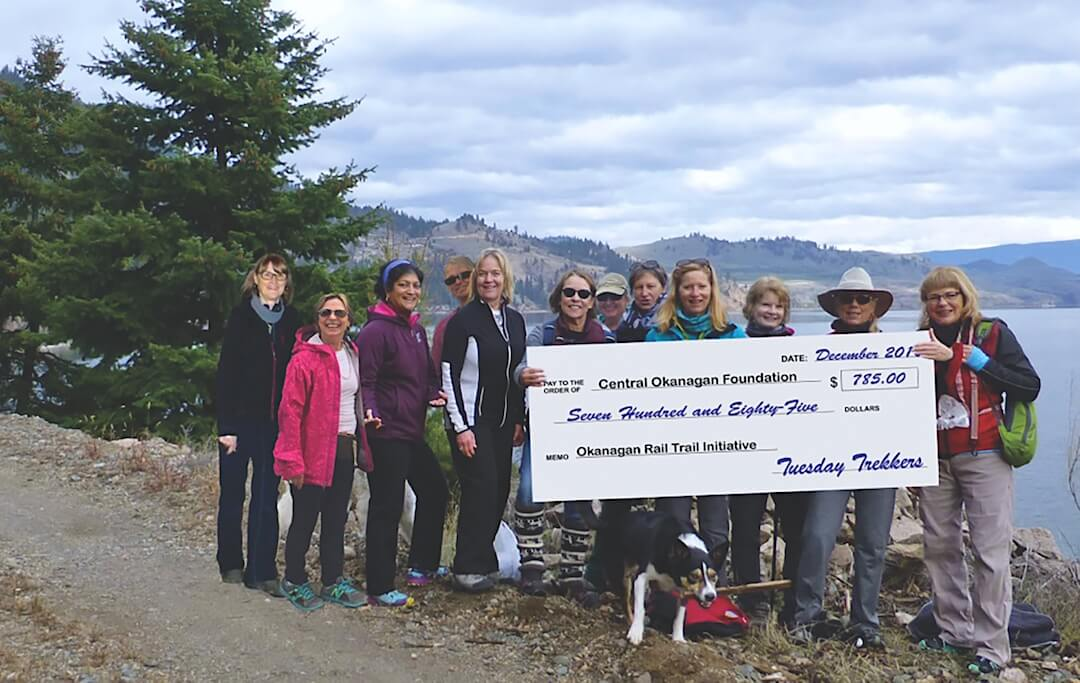 Okanagan Rail Trail: Work under way; help fund completion
