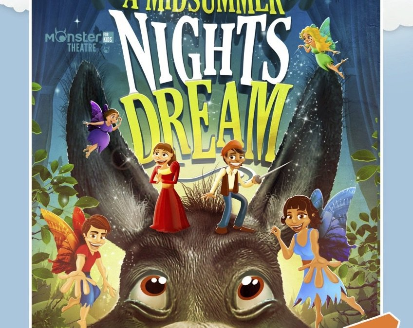 Vernon stages final performance in Kids Series: A Midsummer Night's Dream