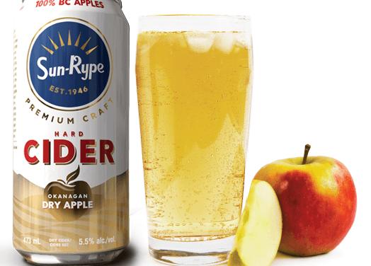 SunRype launches new premium craft cider