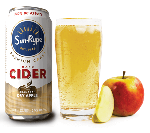 SunRype launches new premium craft cider