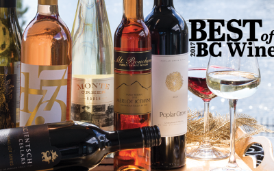 2017 Okanagan Life Best of BC Wine Award Winners