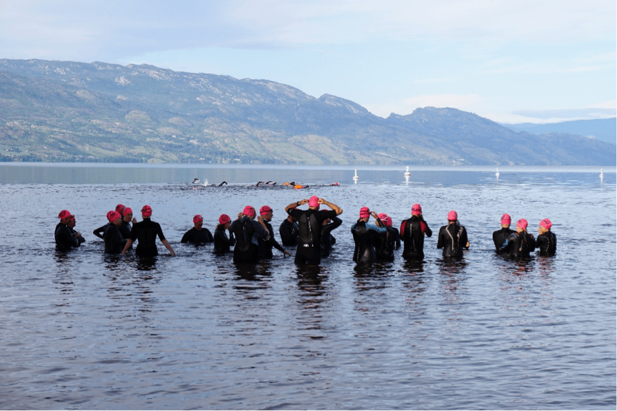 Green light for Across the Lake Swim