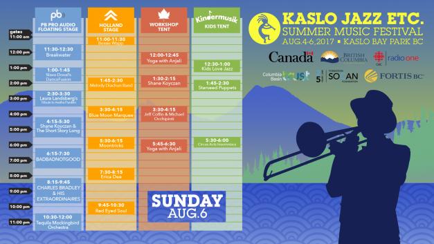 KasloJazzFest @ KasloBay Park | Kaslo | British Columbia | Canada