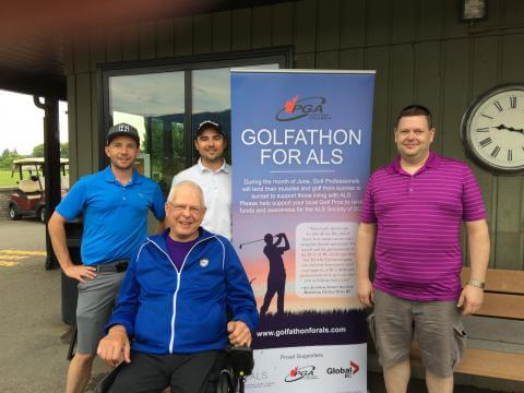 Okanagan golf pros raise funds for ALS