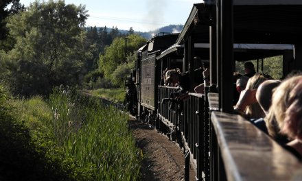 Grand Sommelier Express raises funds for steam railway