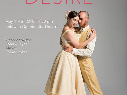 Ballet Kelowna celebrates 15th season with remembrance and desire