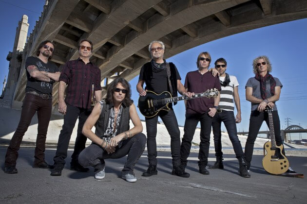 Foreigner on 40th Anniversary Tour
