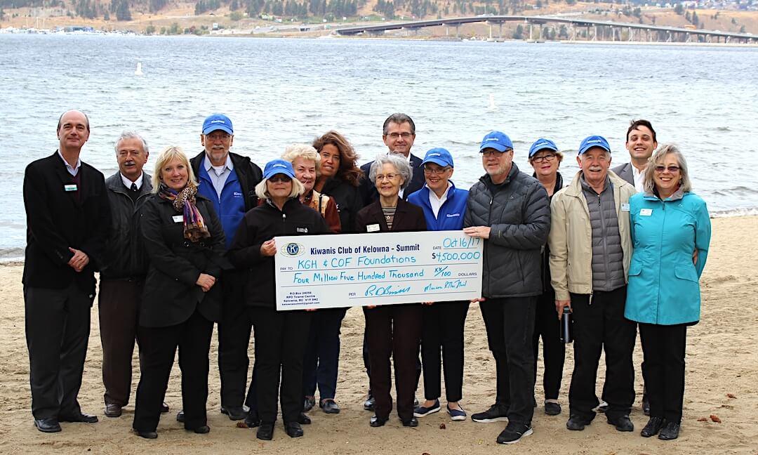 Historic $4.5 million Kiwanis endowment support local children