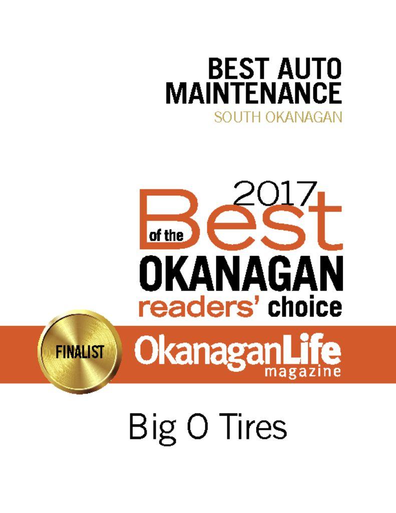 Big O Tires – Penticton