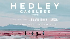 Hedley: Cageless Tour @ Prospera Place | Kelowna | BC | Canada
