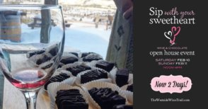Sip with your Sweetheart - wine & chocolate @ Westside Wine Trail | West Kelowna | BC | Canada