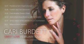Jazz Cafe Kelowna Presents Cari Burdett @ Kelowna Forum | Kelowna | BC | Canada